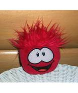 """Disney Club Penguin  Plush Red 4"""" Puffle with Tongue & Happy Smile - $4.59"""