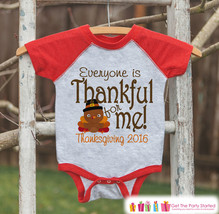 Thanksgiving Pregnancy Announcement - Everyone Is Thankful For Me - Lil Turkey P - $21.00