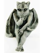 Sitting Gargoyle Concrete Ornament Statue - $54.00