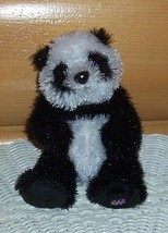 "Plush Webkinz - Black & White Lil Kinz Panda Bear 6"" Wants Home FREE SHIP - $5.99"