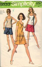 8833 Vintage Simplicity Sewing Pattern Misses M... - $4.33