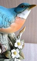 Homco Eastern Bluebird Masterpiece Porcelain By Muzuni - $62.99