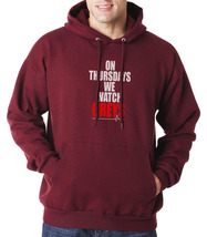 On Thursday We Watch Greys greys anatomy Unisex Hoodie S-3XL MAROON - $31.00+