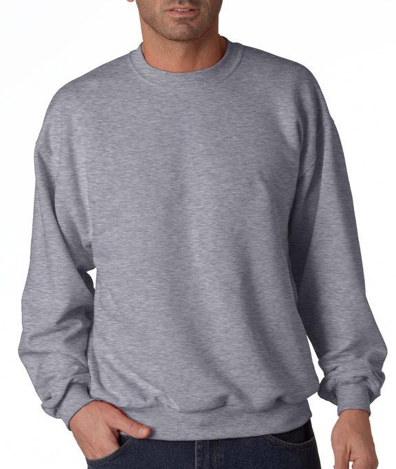 Camping Sweatshirt - Men's Crewneck Sweatshirt - Sleep Under The Stars Adult Gre