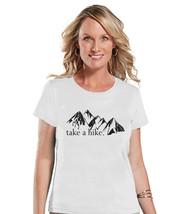 Hiking Shirt - Take a Hike Shirt - Womens White Camping T-shirt - Ladies... - $18.00