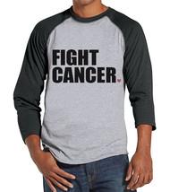 Men's Fight Cancer Shirt - Team Race Shirts - Cancer Awareness - Grey Ra... - $21.00