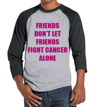 Men's Friends Fight Cancer Shirt - Team Race Shirts - Breast Cancer Awar... - $21.00