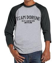 Men's Race Day Shirt - Custom Team Shirts - Cancer Awareness Top - Grey ... - $21.00