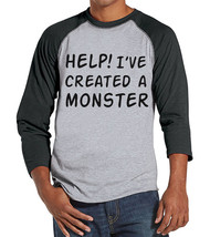 Men's Created a Monster Outfit - Monster Daddy and Me Coordinating Shirt... - $21.00
