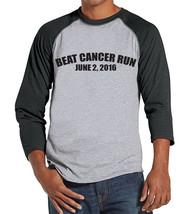 Men's Race Shirt - Custom Race Team Shirts - Cancer Awareness - Grey Rag... - $21.00