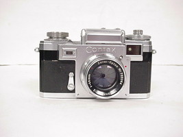 Vintage Contax Zeiss Ikon 35mm Camera with case - $296.99