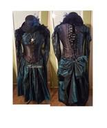 Masquerade steam punk gown dress ensemble 18 20... - $140.00