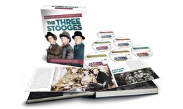 THE THREE STOOGES - PREMIUM COLLECTOR'S EDITION - 6 DVDs plus Hardcover Book image 2