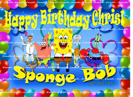 SPONGEBOB SQUAREPANTS: Personalized Image Edible Cake Topper - $9.78