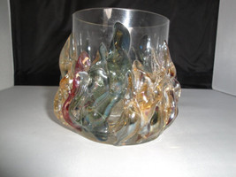 Small vase by Ion Tamaian Signed Artglass - Personal Collection glass ar... - $59.99