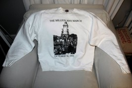 VINTAGE THE MILLION MAN MARCH SWEATSHIRT SIZE XL RARE - $75.23