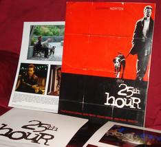 Spike Lee's '25th HOUR' Press Kit - Edward Norton + Philip Seymour Hoffman - $12.95
