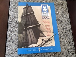 2001 Tall Ships Challenge Great Lakes Official Program Profiles Spotting... - $4.25