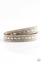 Shimmer & Sass Wrap Bracelet  - $5.00