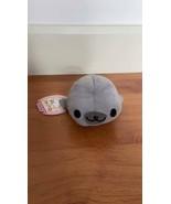 Mamegoma San-X Little Seal Plush Gomagoma Sesame-goma Gray Color Cute - $24.54