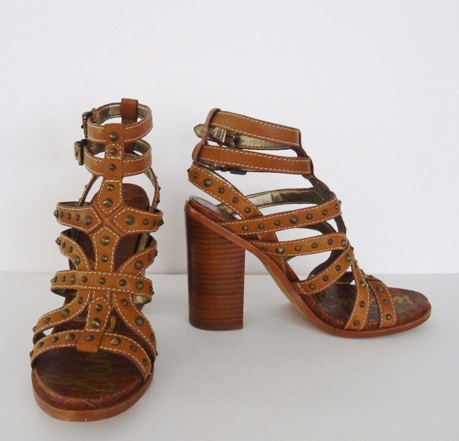 01876a8404f6 NIB Sam Edelman Keith Block Strappy Heels and 50 similar items. 57