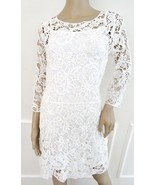 Nwt Lauren Ralph Lauren Crocheted Lace Cocktail Sheath Dress Sz PL Petit... - $79.15