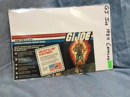 Vintage 1984 G.I. GI Joe Original Insert Catalog Brochure Cobra Nice! - $8.50