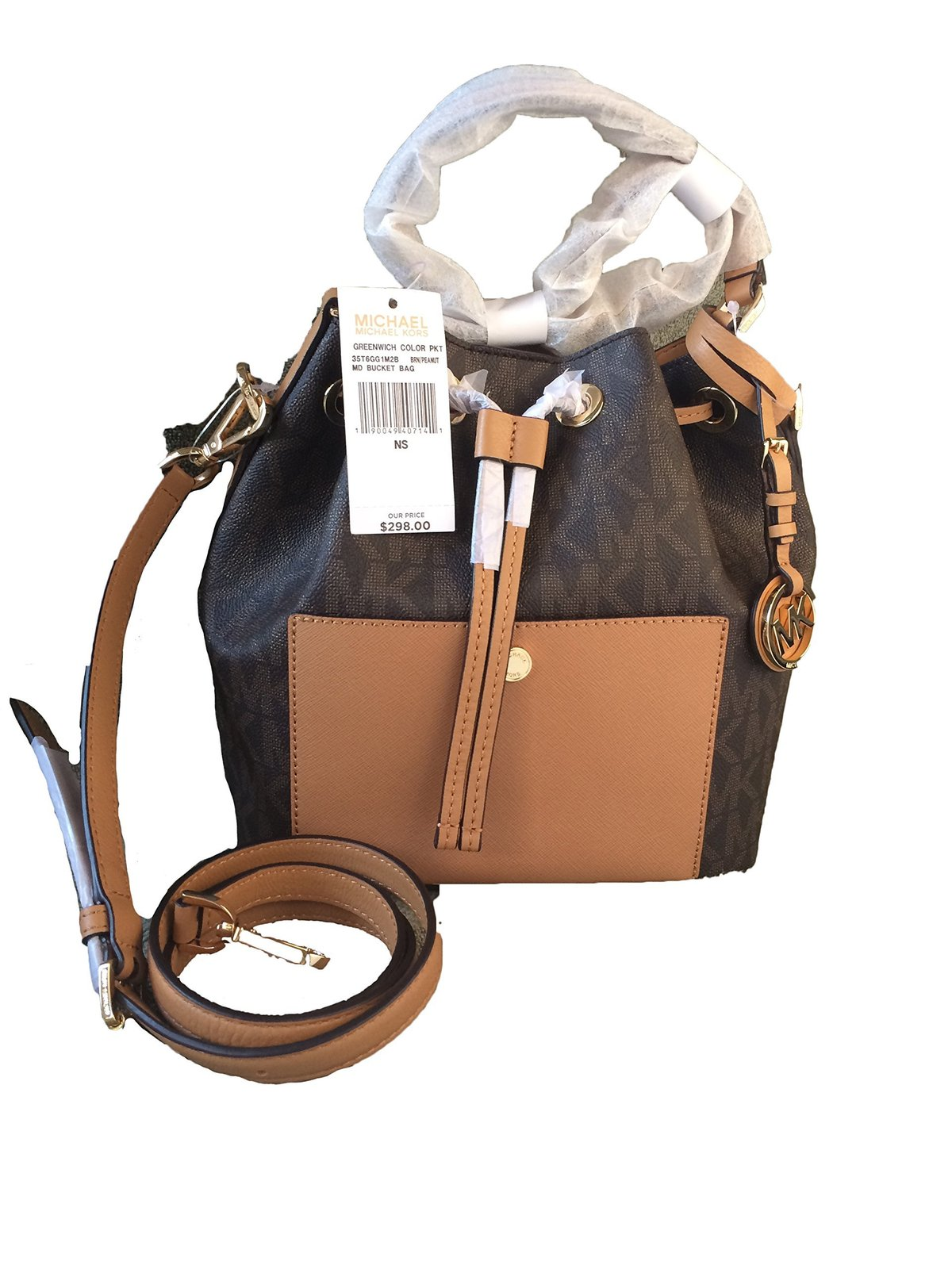 59bde9175c94 Michael Kors Greenwich Medium Bucket Bag and 50 similar items. 81c5ldickil