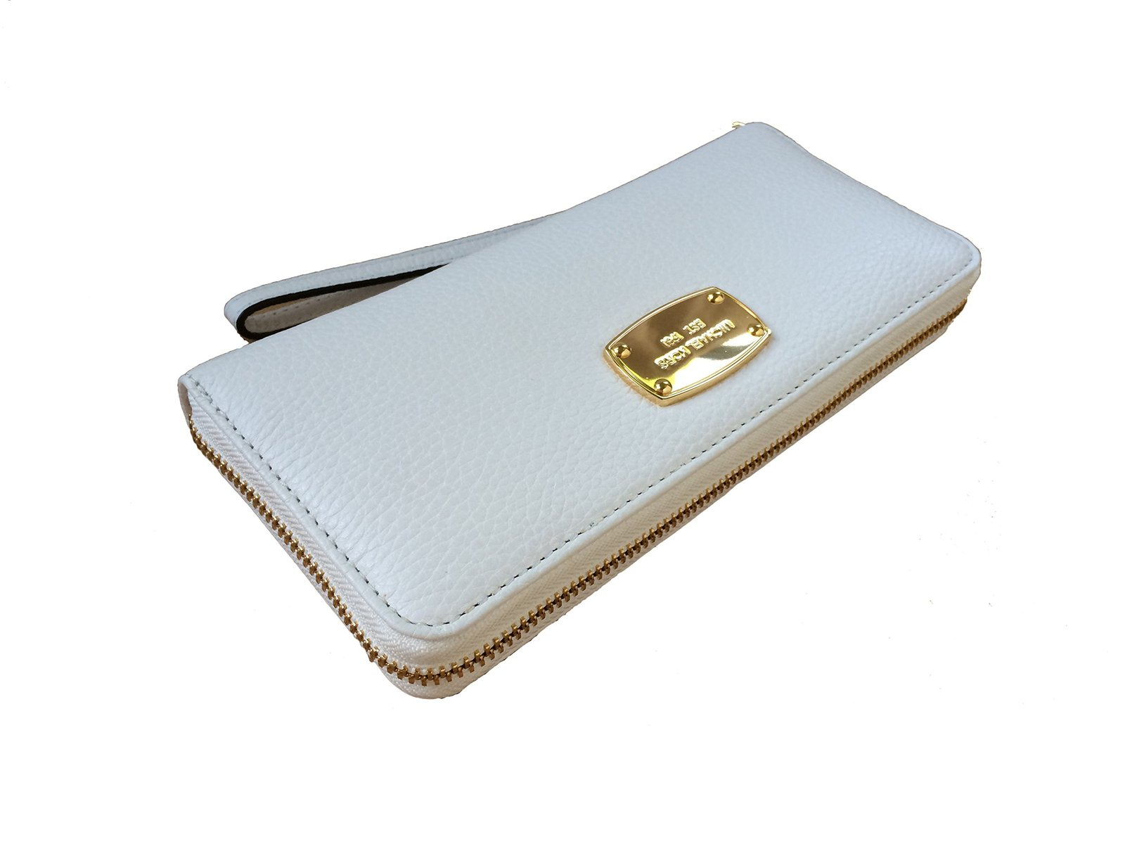 019f2096d5de 715psnvwfdl. 715psnvwfdl. Previous. Michael Kors Optic White Leather Jet  Set Travel Continental Zip Around Wallet.
