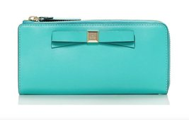 KATE SPADE Montford Park Nisha Wallet - Giverny Blue - $129.75