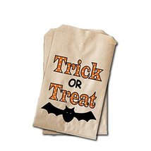 Halloween Candy Bags - Halloween Party Favor Bags - Trick or Treat with ... - $15.46 CAD