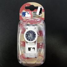 MLB Detroit Tigers Unisex Rookie White Watch - $39.15