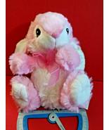 Pink Bunny Plush Toy Dan Dee Easter Holiday Rabbit Stuffed Animal Soft D... - $6.64