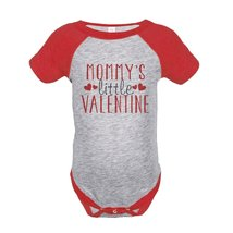 Custom Party Shop Baby Boy's Mommy's Little Valentine Onepiece 6 Months ... - ₹1,439.48 INR