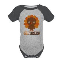 Custom Party Shop Baby Boy's Little Turkey Thanksgiving Onepiece 12 Mont... - $20.58