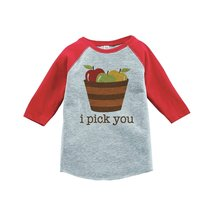 Custom Party Shop Baby's I Pick You Thanksgiving 2T Red Raglan - $20.58