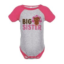 Custom Party Shop Baby Girl's Big Sister Thanksgiving Onepiece 12 Months... - $20.58