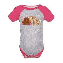Custom Party Shop Baby Girl's Kid's Table Thanksgiving Onepiece 18 Month... - $20.58