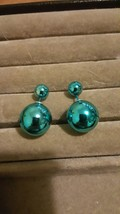 Shiny Blue Ball Studs Combined Shipping - $1.49