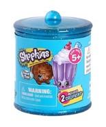 New Shopkins Season 4 Food Fair Blind Candy Jar Canister Includes 2 Shop... - $5.84