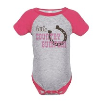 Custom Party Shop Girls' Cowgirl Onepiece 12 Months Pink and Brown - $20.58