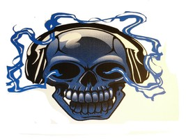 1 Skull With Headphones T-shirt *You Pick Color And Size Of Shirt* - $8.00