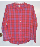 Mossimo Supply Co Womens Plaid Button Down Shirt Size 2XLarge NWT - $16.81