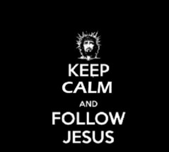 1 Keep Calm And Follow Jesus T-shirt *You Pick Color And Size Of Shirt* - $3.00