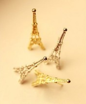Lovely Eiffel Tower Stud Earrings(Color:Gold /Silver ) - $4.99