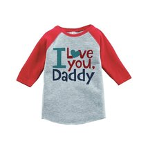 Custom Party Shop Boy's Father's Day Vintage Baseball Tee 4T Red - $20.58