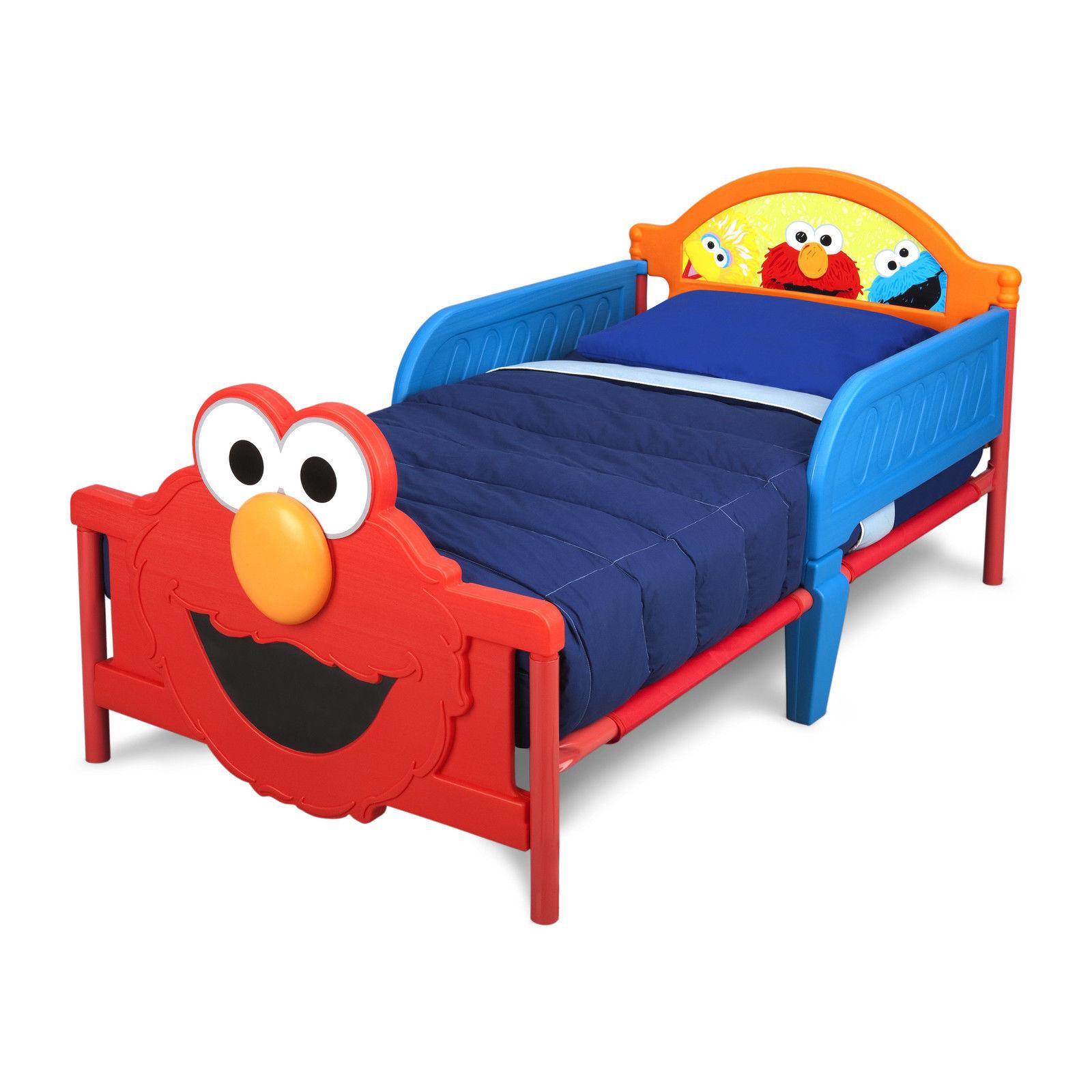 Sesame Street 3d Toddler Bed Frame Children And 17 Similar