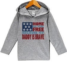 Custom Party Shop Baby Kids 4th of July Hoodie Pullover 24 Months Grey - $22.05