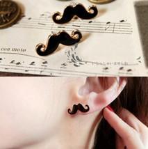 Lovely Mini Moustache Stud Earrings - $4.99