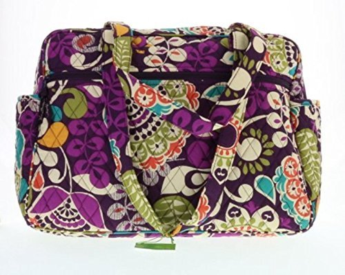 f522e322d8 Vera Bradley Baby Bag (Plum Crazy with Solid Purple Interior) -  89.99
